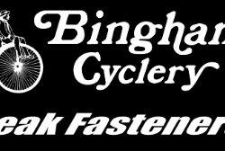 Bingham Cyclery Peak Fasteners