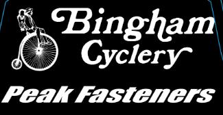 Bingham Cyclery-Peak Fasteners